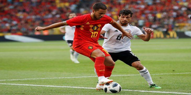نتيجة المباراة الوديه بين مصر وبلجيكا وفوز بلجيكا 3-0 11