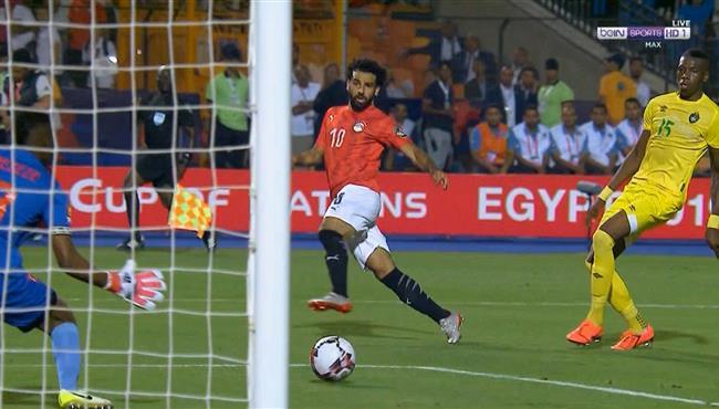 أهداف مباراة منتخب مصر وزيمبابوى فى بطولة كأس الأمم الأفريقية 2019